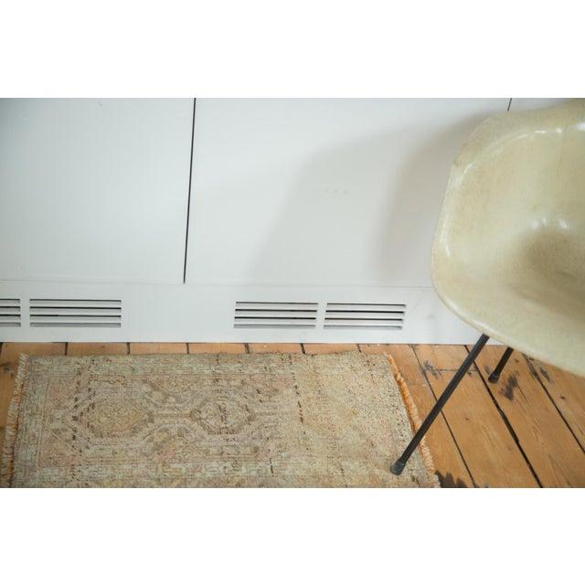 """Mid-Century Oushak Rug Mat - 1'6"""" X 2'9"""" - Image 2 of 5"""