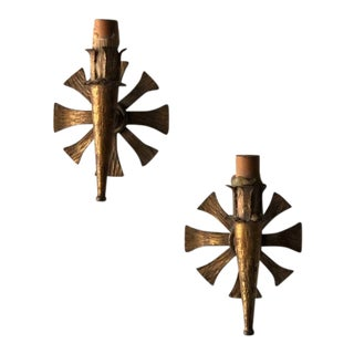 Pair of Spanish Sconces For Sale