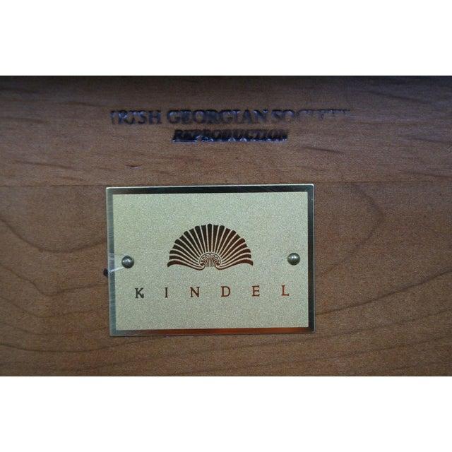Kindel Irish Georgian Collection Inlaid Demilune Console Table - Image 10 of 10