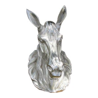 French Style Aluminum Horse Head For Sale