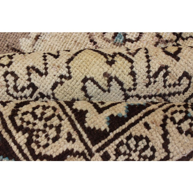 Mid 20th Century Semi Antique Lilihan Rug - 4′3″ × 6′9″ For Sale - Image 5 of 13