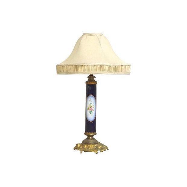 Antique Porcelain Sèvres Lamp For Sale - Image 9 of 9