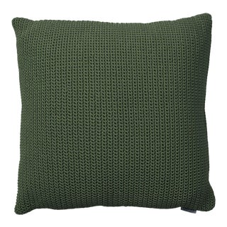 Cane-Line Divine Square Scatter Cushion, Dark Gray For Sale