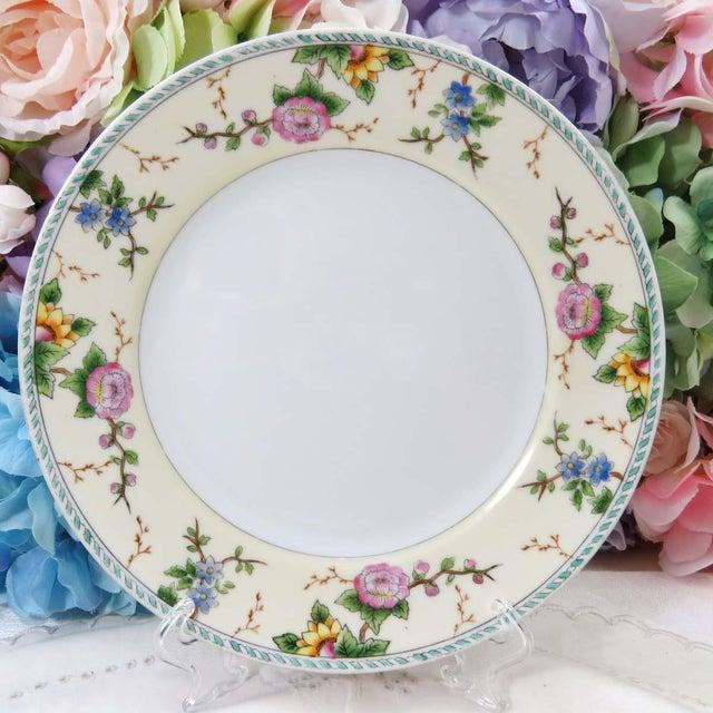 Vintage Mismatched Luncheon Plates - Set of 4 - Image 4 of 8