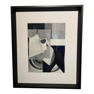 Anna Walinska Original 1980s Abstract Collage For Sale