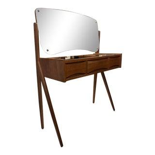 1960s Arne Vodder Danish Mid Century Modern Vanity For Sale