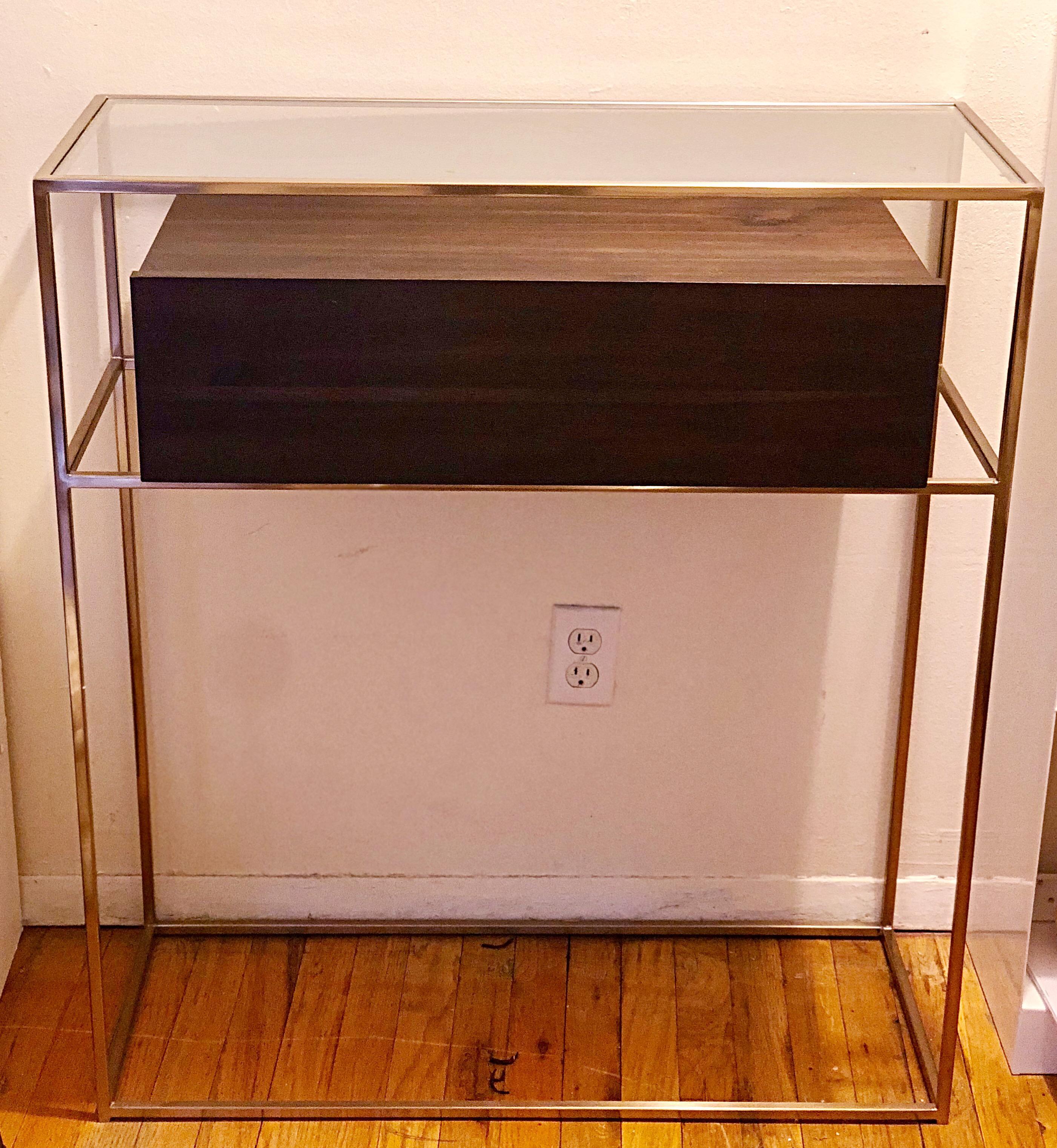 Contemporary CB2 Salvador Entryway Cabinet For Sale   Image 3 Of 3