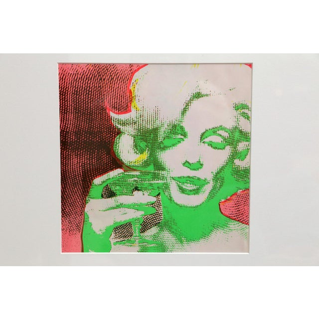 """""""The Marilyn Monroe Trip - 2"""" Original 1968 Serigraph by Burt Stern For Sale - Image 5 of 6"""