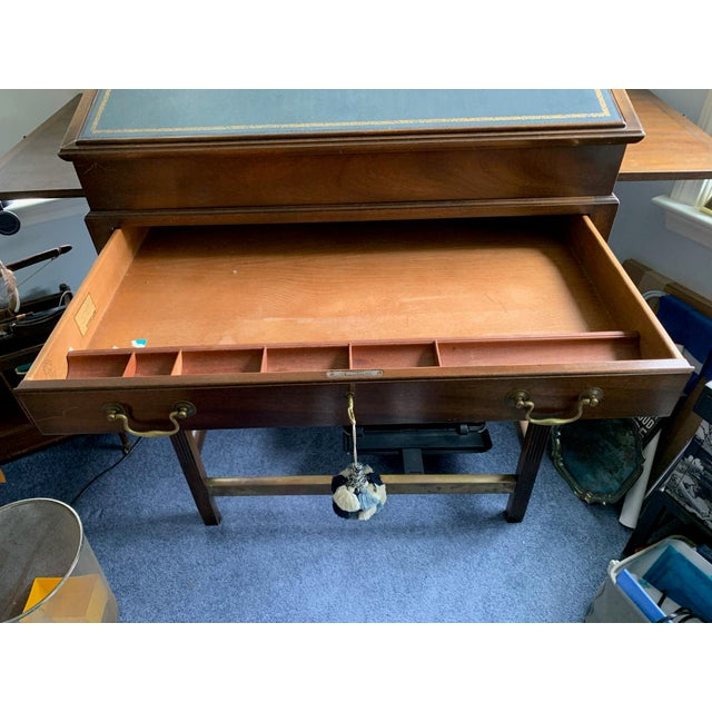 American Classical 1980s American Classical Kittinger Stand Up Desk For Sale - Image 3 of 6