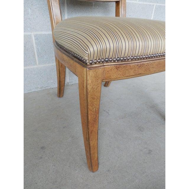 Ferguson Copeland Neoclassical Regency Style Chairs - Set of 8 - Image 10 of 11