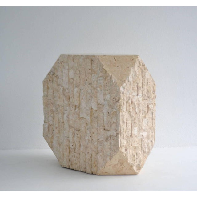 Modern Tessellated Pedestal For Sale - Image 3 of 11