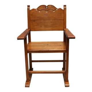 Molave Wood Bishop Chair For Sale
