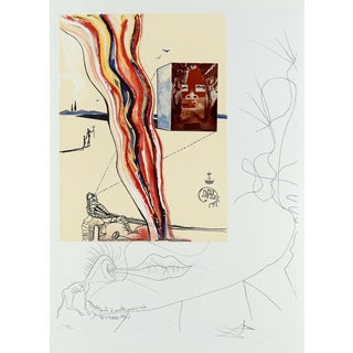 Salvador Dalí­ Liquid & Gaseous Television (Imagination & Objects of the Future Portfolio) 1975 For Sale