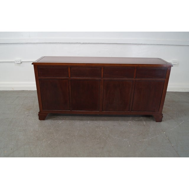 Solid Mahogany Chippendale Georgian Court Dresser For Sale - Image 5 of 10