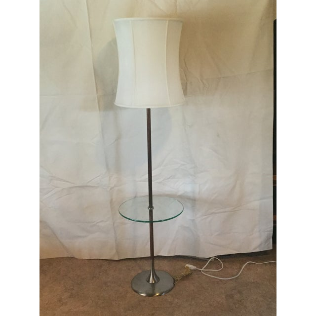 1960s Iconic Tulip Base Walnut Floor Lamp For Sale - Image 12 of 12