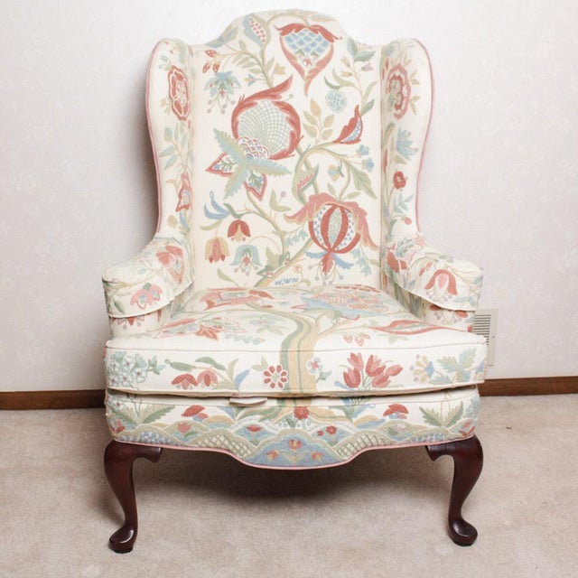 NOTE: Matching chair available for sale. If interested in purchasing the pair, please contact support@chairish.com. This...