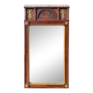 Classical Continental Hall Mirror, Circa 1810 For Sale