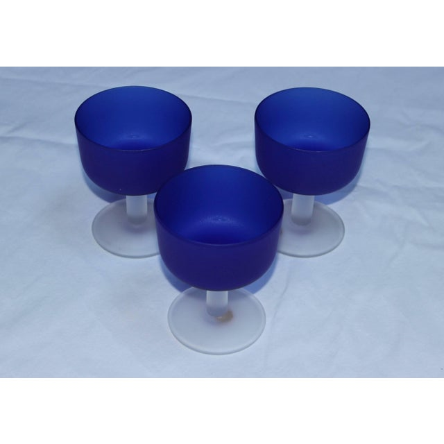 Mid 20th Century 12 Italian Glass Goblets For Sale - Image 5 of 11
