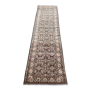 "1950s Vintage Hamadan Runner-3'11"" X 15' For Sale"
