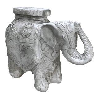Concrete Elephant Garden Stool For Sale