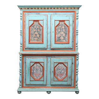 1700-1800s Swedish Antique Cupboard For Sale