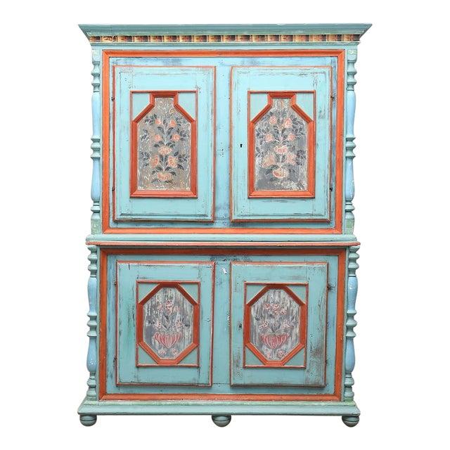 1700-1800s Swedish Antique Cupboard For Sale - 1700-1800s Swedish Antique Cupboard Chairish