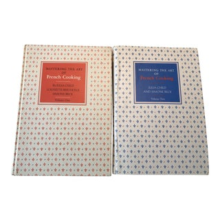 Vintage French Cookbooks by Julia Child - a Pair