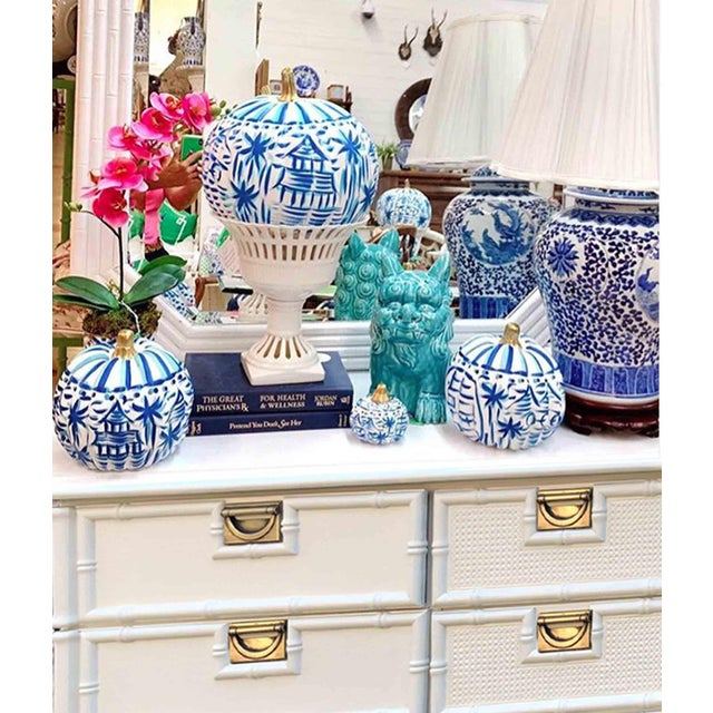 Fresh out of our paint studio we have a wonderful Faux Bamboo nine drawer dresser. Perfect space saving design with all...