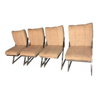 Mid-Century Modern Z-Frame Dining Room Chairs - Set of 4 For Sale