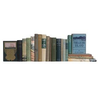 Storm-Surge Vintage Nautical Book Collection, (S/20) For Sale