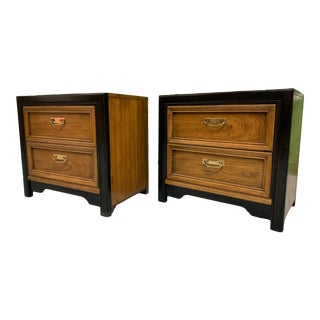 Thomasville Two-Toned Nightstands For Sale