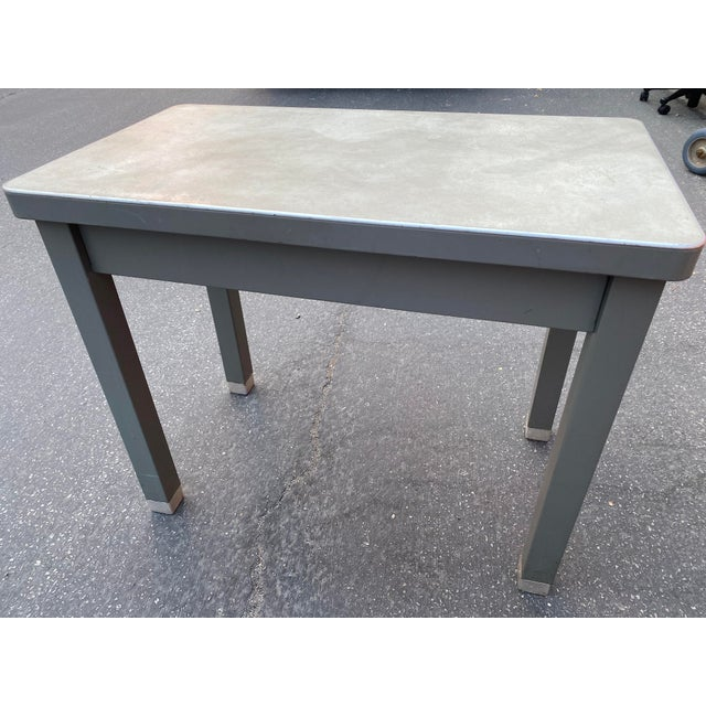 1960s 1960s Cole Steel Children's Desk For Sale - Image 5 of 9
