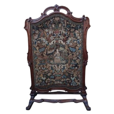 19th Century French Needlework Screen - Image 1 of 5