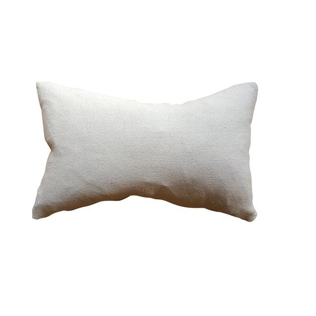 White African Mud Cloth Lumbar Pillows - A Pair - Image 4 of 4