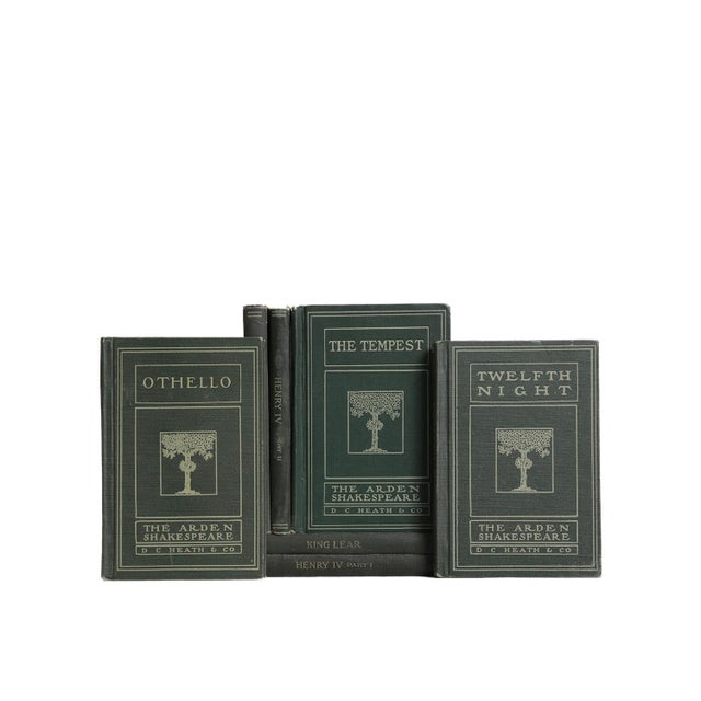Vintage Decorative Book Gift Set: Shakespeare Greens For Sale - Image 4 of 5