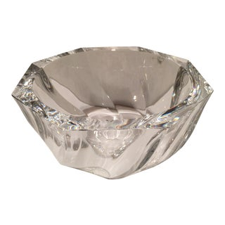 "Orrefors ""Residence"" Crystal Bowl For Sale"