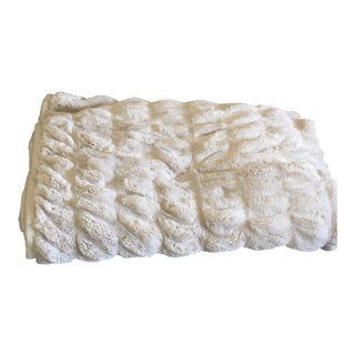 "Pottery Barn ""Fluffy"" Throw For Sale"