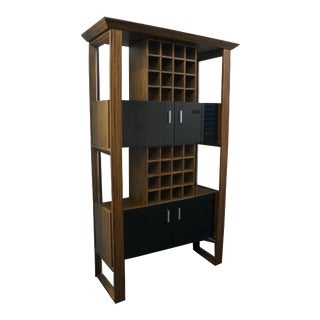 Zebrawood Wine Rack For Sale
