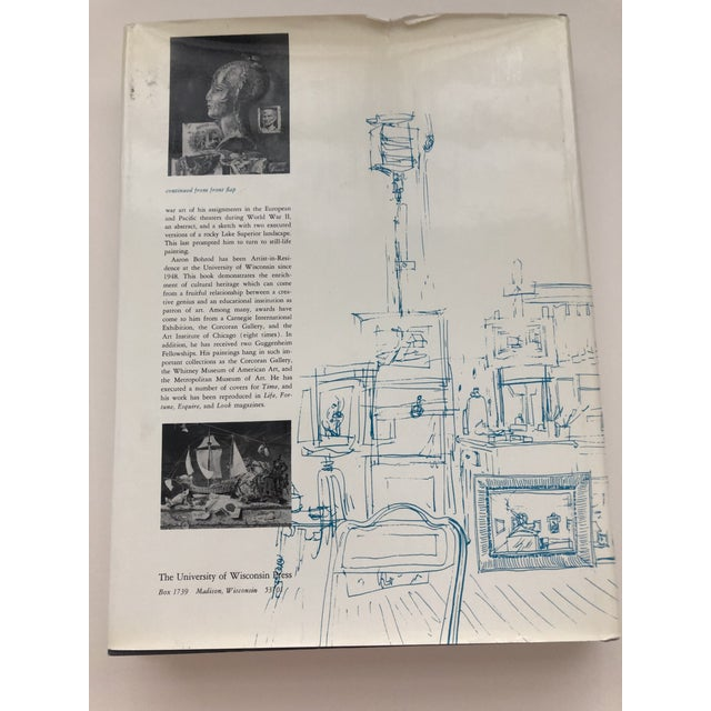 Paper Aaron Bohrod a Decade of Still Life Hardback 1966 For Sale - Image 7 of 8