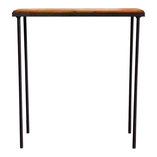 Mid-Century Modern Hand-Bag Entry Table For Sale