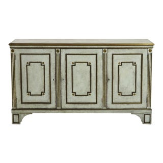 19th C Russian, Neoclassical 3-Door Sideboard For Sale