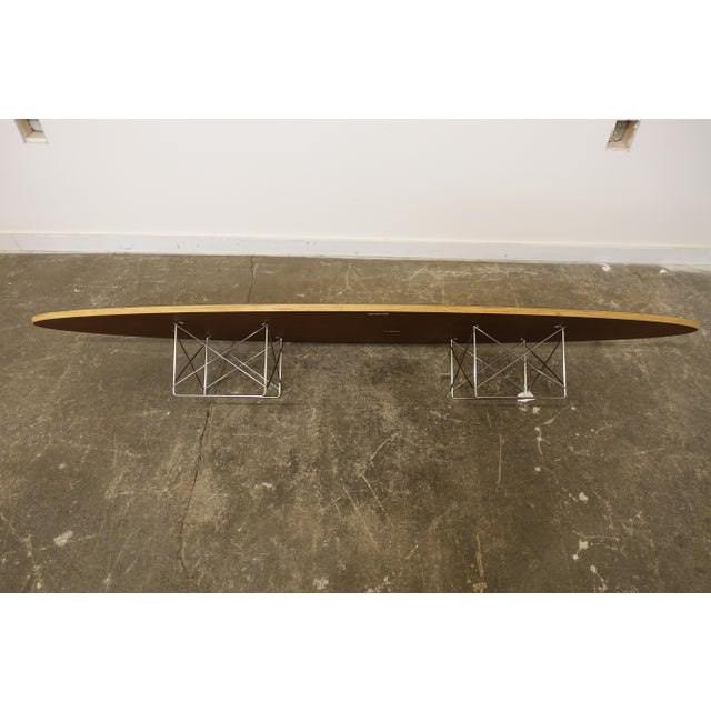 Mid-Century Modern Eames Surfboard Coffee Table For Sale In Cleveland - Image 6 of 10