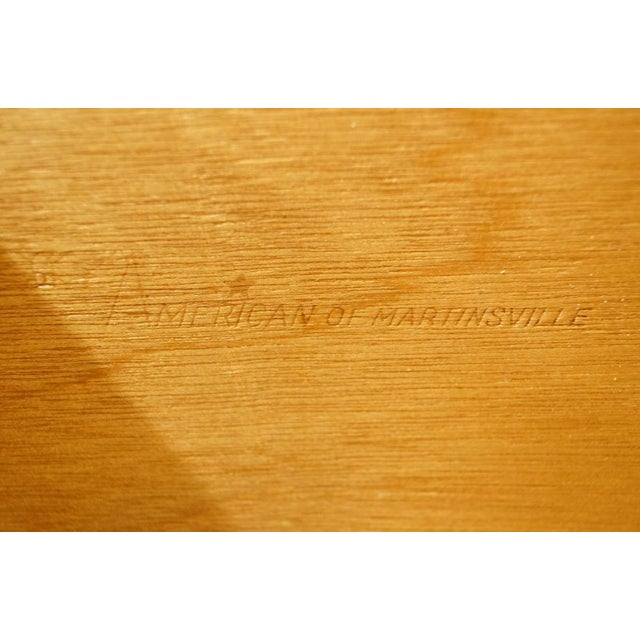 """20th Century Italian American of Martinsville 40"""" Door Chest/Armoire For Sale - Image 9 of 13"""