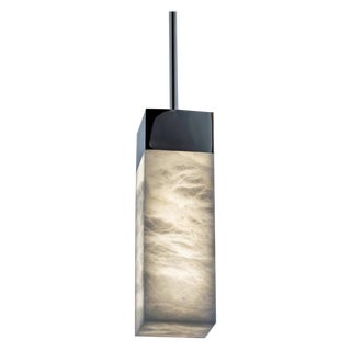 Crenshaw Lighting Slim Alabaster Pendant For Sale