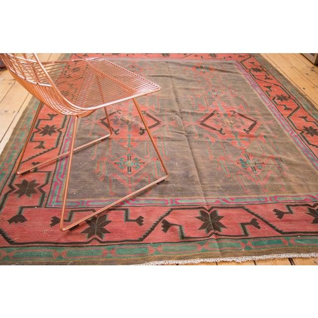 "Vintage Turkish Kilim Carpet - 6'1"" x 7'9"" - Image 2 of 5"