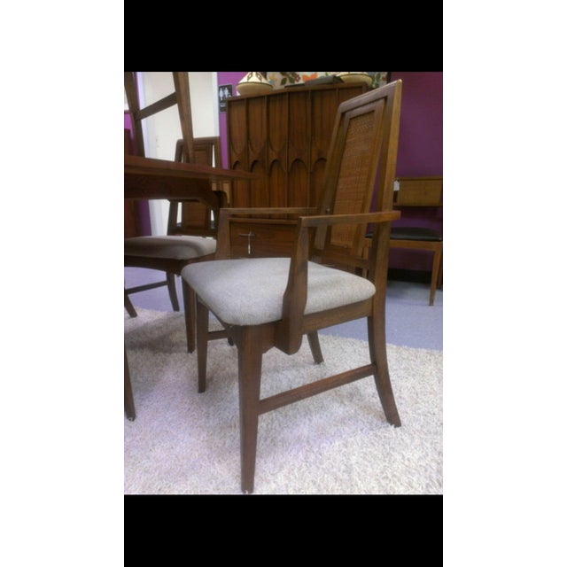 Mid-Century Modern Dining Chairs - Set of 8 - Image 3 of 3