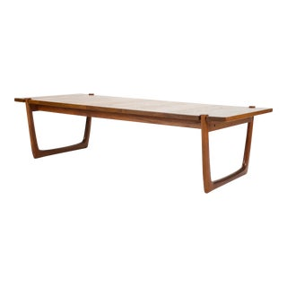 1960s Danish Modern Peter Hvidt and Orla Mølgaard-Nielsen Teak Coffee Table For Sale