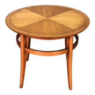 Drexel Meridian Mid-Century Modern Round Side Table For Sale