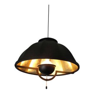 Vintage Fortuny Pendant Light Fixture For Sale
