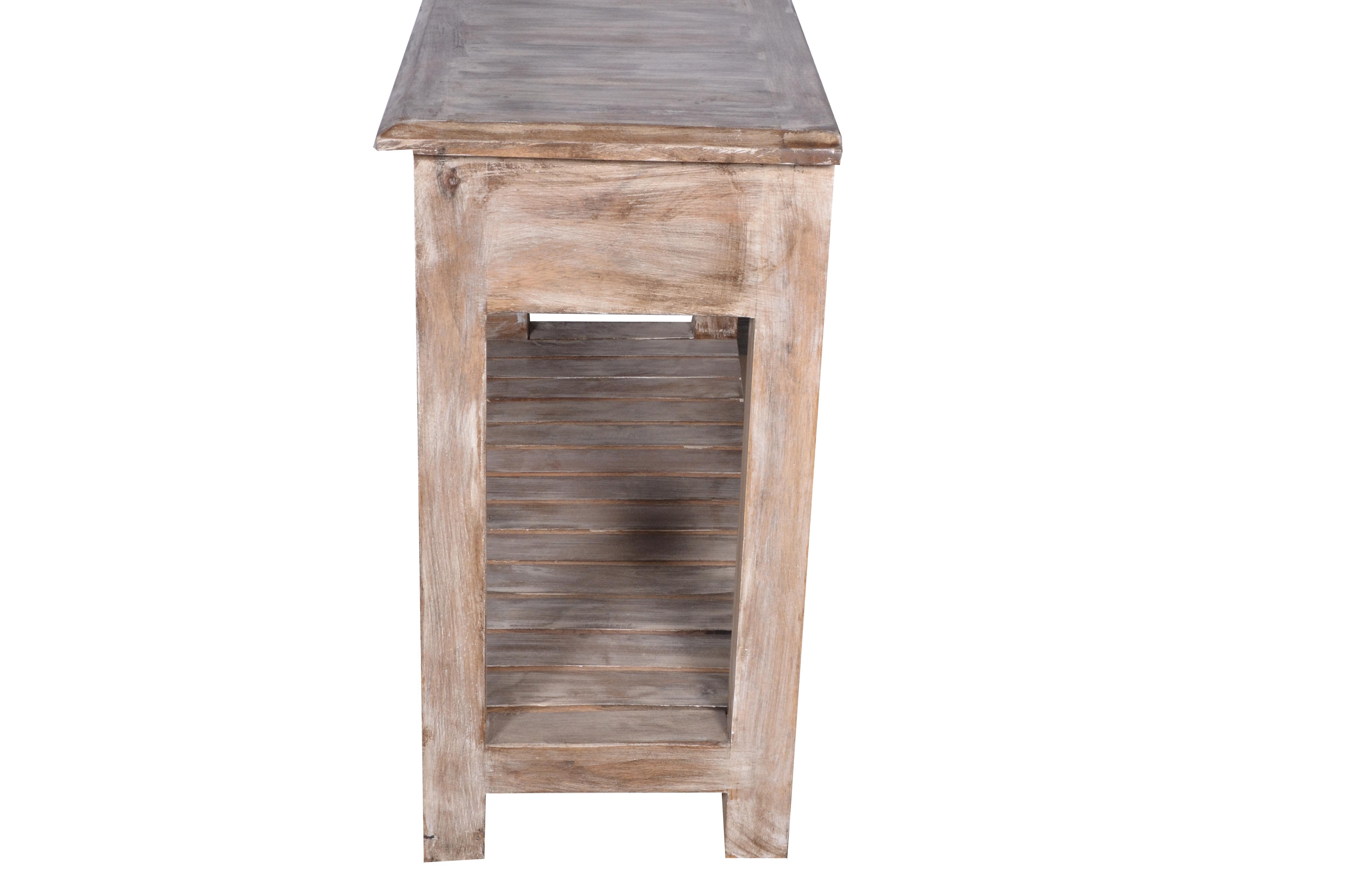 white washed mango wood. Interesting White Wood Duplin Entryway Whitewashed Mango Console Table For Sale  Image  7 Of 8 Throughout White Washed S